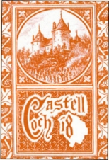 Castle Coch wine bottle label